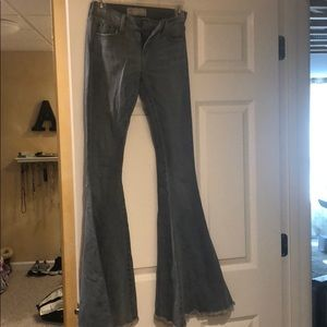Free people bell bottom jeans, worn once